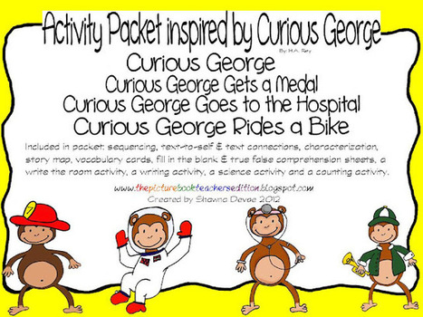 The Picture Book Teacher's Edition: Cuirous George Rides a Bike by ... | English | Scoop.it