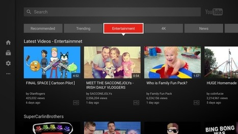 YouTube's refreshed TV app is here -- but not for Apple TV | TheNextWeb | mvpx_CTV | Scoop.it