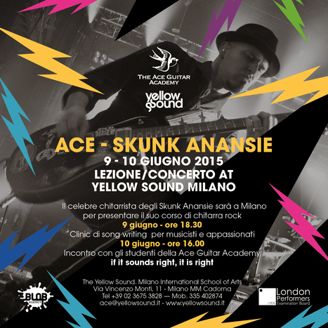 Ace degli Skunk Anansie a Milano! | Music News Italia | Scoop.it