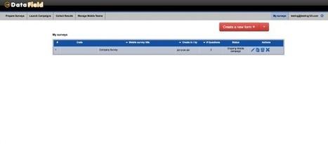 Datafield Review – Build Mobile Forms and Surveys | Best Smallbiz Apps | Scoop.it