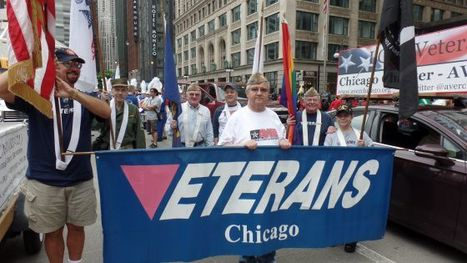 LGBT veterans, band visible in Chicago's Memorial Day observance - Gay Lesbian Bi Trans News Archive - Windy City Times | Diverse Books and Media | Scoop.it