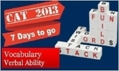 Tips to solve 6 Vocabulary questions in CAT 2013 Verbal Section - MBAUniverse.com | How do you learn vocabulary? | Scoop.it