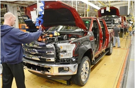 The 2015 F-150 is ready to ship! | Mikes Auto News | Scoop.it