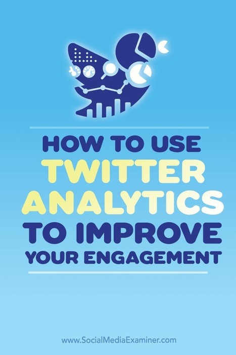 How to Use Twitter Analytics to Improve Your Engagement : Social Media Examiner | New Media & Communication | Scoop.it