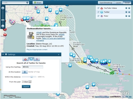 Public Safety : Tools for Social Media   Geographic Information Technology   Scoop.it