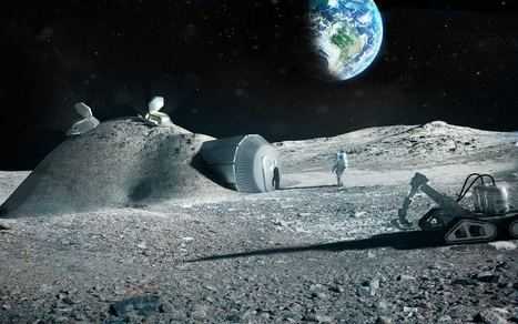 Future 3D printing technology: The ESA 3D prints a lunar base | Peer2Politics | Scoop.it