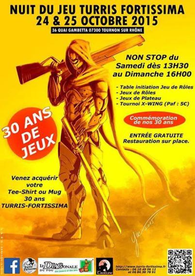 Nuit du jeu Turris Fortissima à Tournon sur Rhône | Jeux de Rôle | Scoop.it