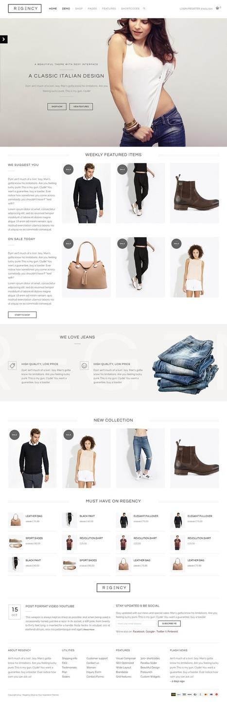 12+ Best Simple WordPress Themes of 2015   Professional WordPress Themes Designs   Scoop.it