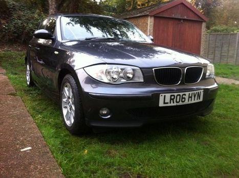 BMW 118DE SE DIESEL FULL SERVICE HISTORY HPI CLEAR   post free classified ads in uk   Scoop.it