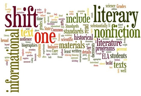 Balancing Informational and Literary Text   common core ela for high school   Scoop.it