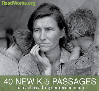 40 New K-5 Reading Comprehension Passages | Readworks | Reading Resources | Scoop.it