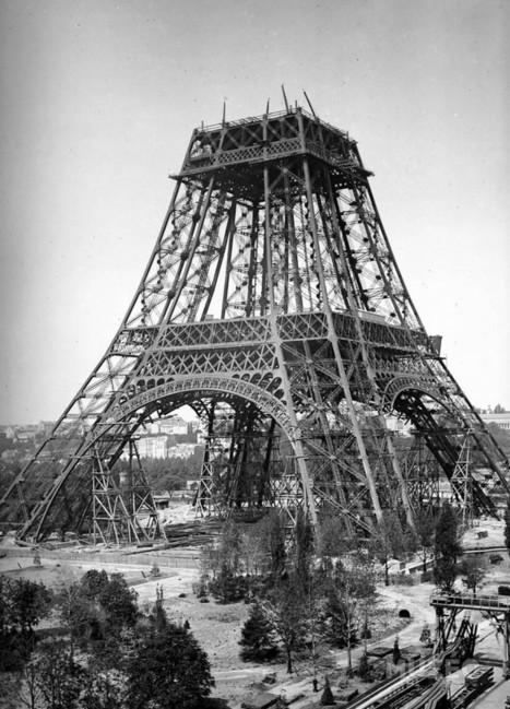 Les incroyables photos de la construction de la Tour Eiffel | Paris ZigZag | Insolite & Secret | Les expositions universelles | Scoop.it
