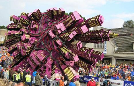 Towering Sculptures Made of Flowers on Display at Bloemencorso, A Flower Parade in Zundert, Netherlands | Colossal | Bloemenmeisje van amersfoort | Scoop.it