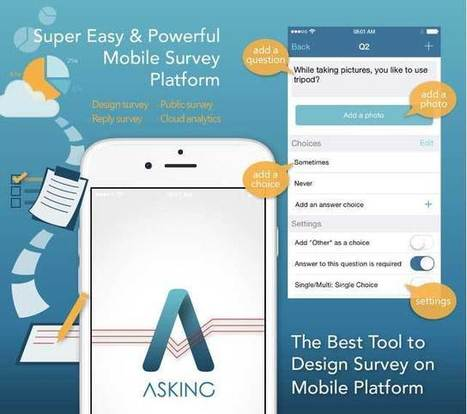 Asking 1.2.0, piattaforma per creare sondaggi direttamente da iPad e iPhone | Teaching and Learning English through Technology | Scoop.it