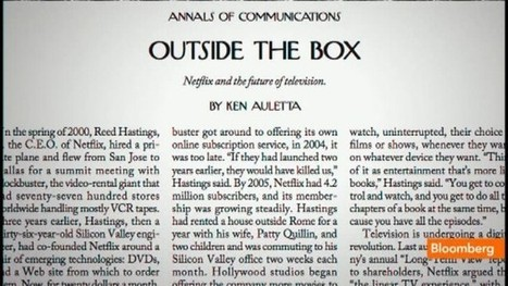 Ken Auletta on Netflix, TV's Future: Video | Digital Cinema - Transmedia | Scoop.it
