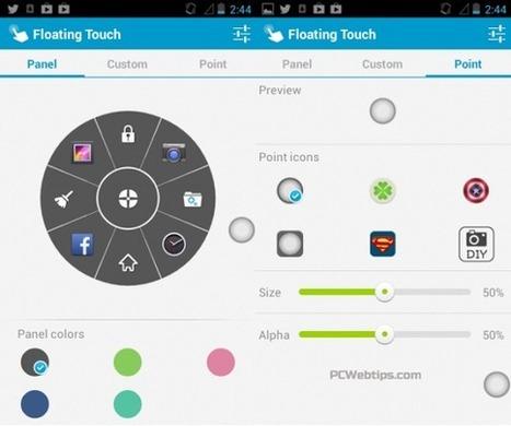 Boton Flotante para abrir Aplicaciones y Funciones en Android   PCWebtips.com   Android - Aplicaciones y Tips   Scoop.it