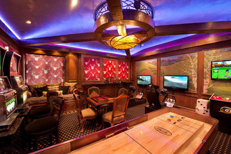 Creative Basement Family Room with Luxury Interior and Furniture Design trends | News Info | Scoop.it