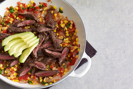 Mexican Skirt Steak with Corn | Meat Recipies | Scoop.it