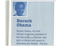 The Vetting - Exclusive - Obama's Literary Agent in 1991 Booklet: 'Born in Kenya and raised in Indonesia and Hawaii' | steveberke | Scoop.it