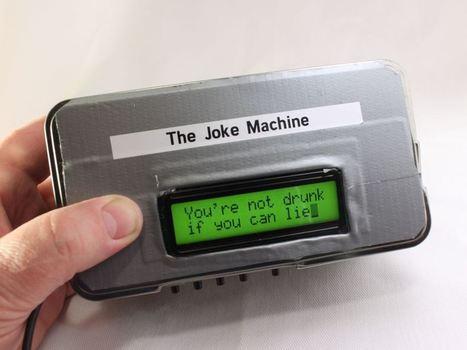 New Project: Build a Raspberry Pi Powered Joke Machine | Raspberry Pi | Scoop.it