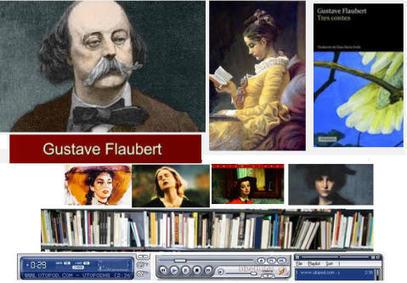Gustave Flaubert Audiovisuel | Français langue étrangère - FLE | Scoop.it