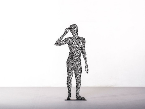 Elegant #Human #Sculptures Made of Intricate #Patterns Found in #Nature. #figurative #art | Luby Art | Scoop.it