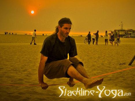 Slackline Yoga | Yoga, santé et sport | Scoop.it