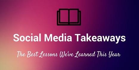 10 Things We've Learned About Social Media in 2014 | GooglePlus Expertise | Scoop.it