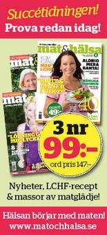 Annika Dahlqvists LCHF-blogg | LCHF | Scoop.it
