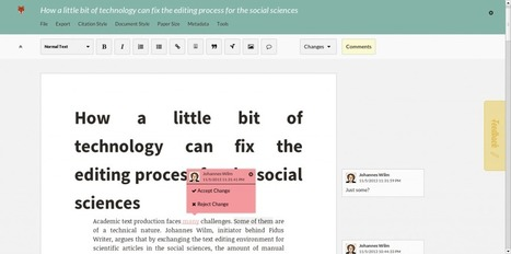 How a little bit of technology can fix the editing and production processes for the social sciences. | academiPad | Scoop.it