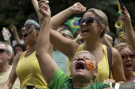 Big protests in Brazil demand President Rousseff's impeachment - BBC News | CLOVER ENTERPRISES ''THE ENTERTAINMENT OF CHOICE'' | Scoop.it
