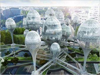 Une cité bulles aux portes de Paris | Dans l'actu | Doc' ESTP | Scoop.it