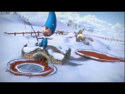 Christmas ad jingles on french TV made with Blender « Safegaard – Movie Theater | Machinimania | Scoop.it