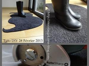 Paillasson en forme de Moustache | Instructions de montage DIY | Le coin des bricoleurs | Best of coin des bricoleurs | Scoop.it