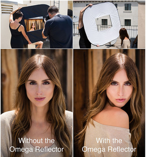 The Omega is the World's First 10-in-1 Shoot Through Reflector | xposing world of Photography & Design | Scoop.it