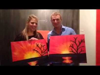Colors & Bottles Video Review in Kansas City! |... | Colors & Bottles Painting Classes #1 | Scoop.it