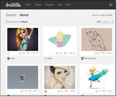 7 sites où il est bon de surfer pour trouver des illustrations, des oeuvres d'art, des photos… | TELT | Scoop.it