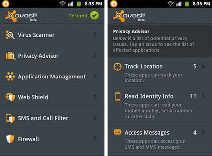 Avast lance son antivirus Mobile Security pour Android | toute l'info sur Google | Scoop.it