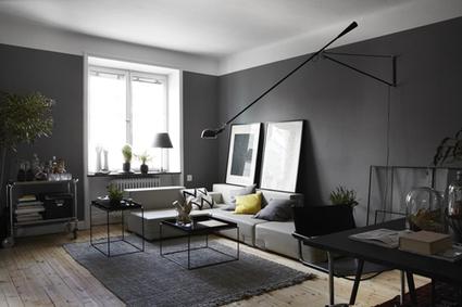 Camaïeu de gris pour ce bel appartement scandinave très chic ! | décoration & déco | Scoop.it