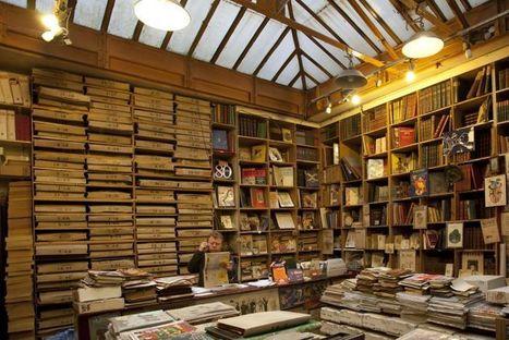 La historia duerme apilada en las estanterías de una tienda de París | didactica de las TIC | Scoop.it