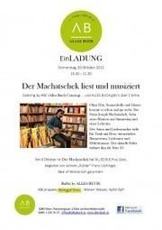 Der Machatschek liest und musiziert bei ALLES BUCH in Wien | Wertemanufaktur ::: Communications Value Manufactory | Stories of Mahagonny | Scoop.it