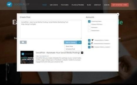 SocialPilot, une alternative à Buffer pour planifier ses partages sur les réseaux sociaux | Time to Learn | Scoop.it