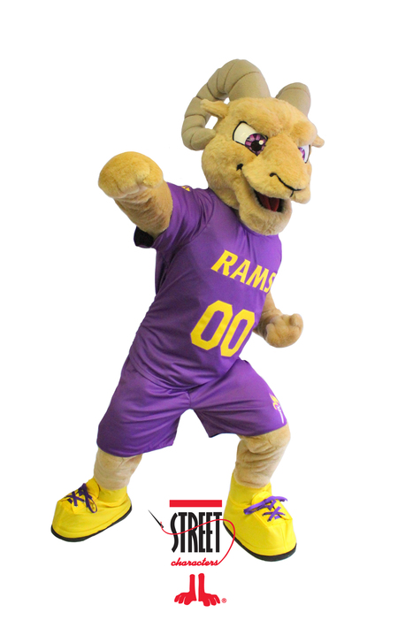 Street Characters Inc. Mascot of the Month for October - Rambo! | Mascots | Scoop.it