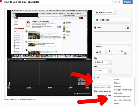 Monetize YouTube: External links in the video | Time to Learn | Scoop.it
