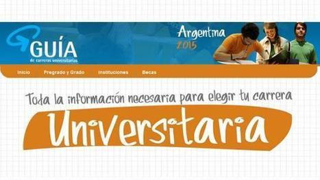 EDUCACIÓN y DOCENTES: Guía de Carreras 2015. Carreras universitarias de pregrado, grado, y posgrado de Argentina | RECURSOS PARA EDUCACIÓN Y BIBLIOTECAS | Scoop.it