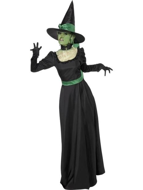 Wizard Of Oz Wicked Witch of The West Fancy Dress Costume, Halloween Wicked Witch Fancy Dress Outfit   Fancy Dress Ideas   Scoop.it