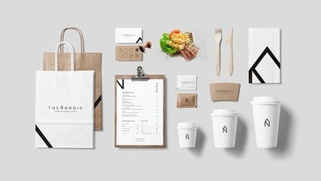 The Chic, Minimalist Logo, Branding Identity Of A Scandinavian Food Truck - DesignTAXI.com | The Twinkie Awards | Scoop.it