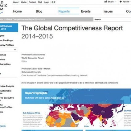 Global Competitiveness Report 2014-2015 | Macro - the UK economy | Scoop.it