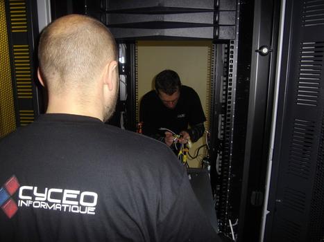 Déménagement informatique - Cyceo transfert | Transfert d'infrastructure informatique | Scoop.it