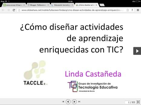 Educación tecnológica: ¿Cómo diseñar actividades de aprendizaje con TIC? | Sinapsisele 3.0 | Scoop.it